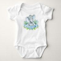 Boys Elephant Baby Shirts