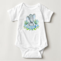 Boys Elephant Baby Shirts