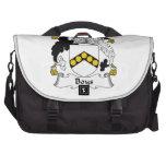 Boys Family Crest Laptop Commuter Bag