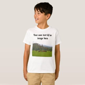 Boys' farm or own words, own image T-Shirt