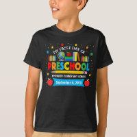 Preschool Shirt 1st Day of School Shirt First Day of Pre-K Preschool Where The Adventure Begins\u00ae First Day of School Shirt