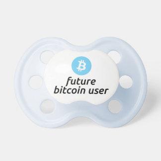 Boy's Future Bitcoin User Pacifier