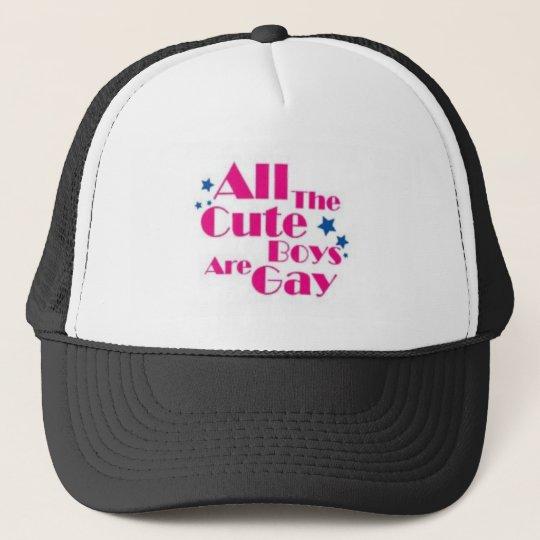 BOYS-GAY TRUCKER HAT