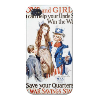 Boys,Girls And Uncle Sam iPhone 4 Cover