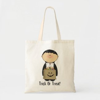 Boy's Halloween Trick Or Treat Bag