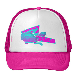 Boys In Blue - Retro Police Van 1988 Trucker Hat