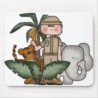 Boys Jungle Safari Mouse Mat