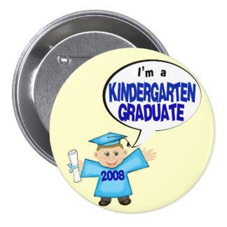 Boys Kindergarten Graduate / Graduation Button