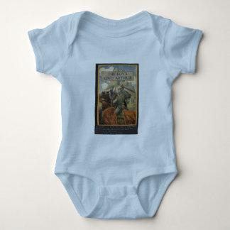 Boys King Arthur Book Cover T-shirt