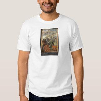 Boys King Arthur Book Cover Tee Shirt