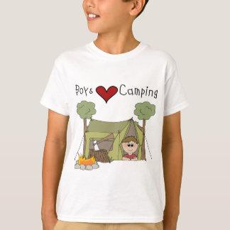 Boys Love Camping T-Shirt