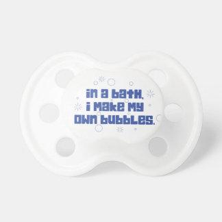 Boy's Make My Own Bubbles Pacifier