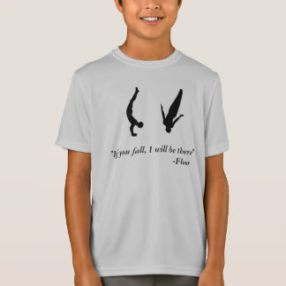 Tumbling t shirts shirt designs zazzle Gymnastics t shirt designs