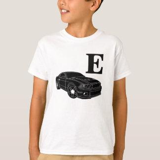Boys Name Sports Car Shirt