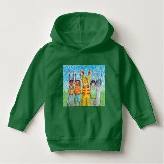 Boys of all the colors hoodie