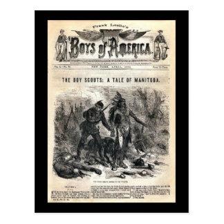 Boys of America Vol X. No. 56, 1878 Postcard