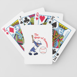 BOYS OF SUMMER BICYCLE PLAYING CARDS