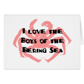Boys of the Bering Sea Card