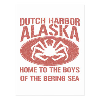 Boys of the Bering Sea! Postcard