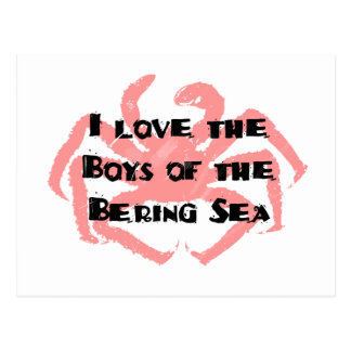 Boys of the Bering Sea Postcard