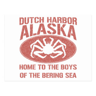 Boys of the Bering Sea! Postcard