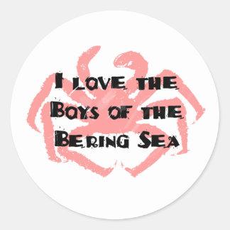 Boys of the Bering Sea Sticker