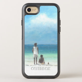 Boys on Beach Kenya OtterBox Symmetry iPhone 7 Case