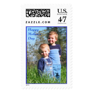 Boys on the hill postage