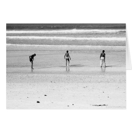 """""""Boys on the South African Beach"""" JTG Art Card"""