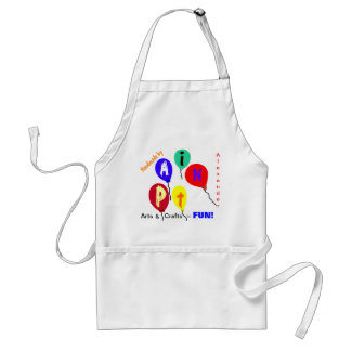 Boys or Girls Colorful Craft Apron CUSTOMIZE  IT