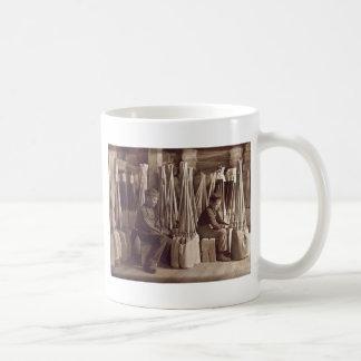 Boys Packing Brooms, 1908 Classic White Coffee Mug