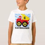 Boys Personalized Dump Truck Birthday T-Shirt