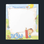"Boy&#39;s Personalized Mitzvah Notepad<br><div class=""desc"">Boy&#39;s Personalized Mitzvah Notepad by Between Carpools</div>"