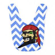 Boys Pirate Bib
