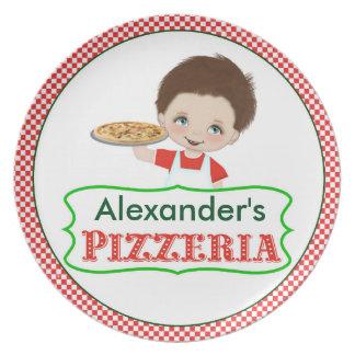 Boy's Pizzeria Plate