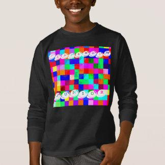 Boys Platenhim Juniors Colour Club Jumper Black T-Shirt