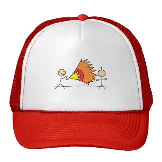 Boys Playing Fighting Effects Fun Games Trucker Hat