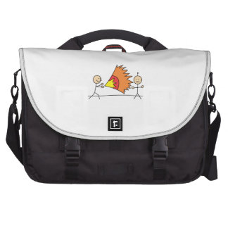 Boys Playing Fighting Effects Fun Games Laptop Bags