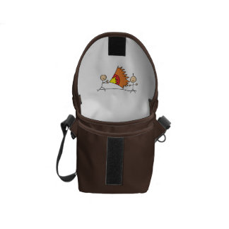 Boys Playing Fighting Effects Fun Games Courier Bags