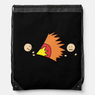 Boys Playing Fighting Effects Fun Games Backpacks