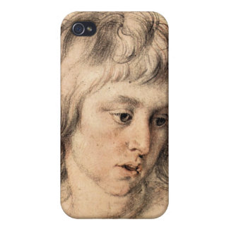 Boys portrait by Paul Rubens iPhone 4/4S Cover