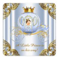 Boys Prince Royal Carriage Prince Baby Shower