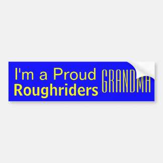 Boys Ranch High School PROUD Grandm bumper sticker