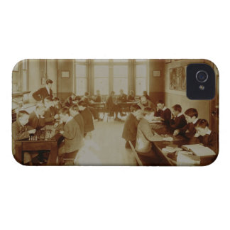 Boy's Recreation Room at the Deaf and Dumb Institu iPhone 4 Case-Mate Case