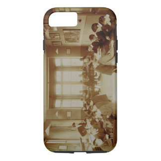 Boy's Recreation Room at the Deaf and Dumb Institu iPhone 8/7 Case