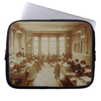 Boy's Recreation Room at the Deaf and Dumb Institu Laptop Sleeve