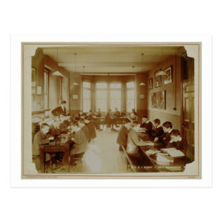 Boy's Recreation Room at the Deaf and Dumb Institu Postcard