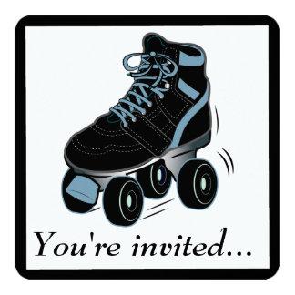 boys roller skating birthday party invitation - Roller Skating Birthday Party Invitations