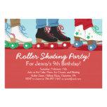 Boys Roller Skating Party Invitations