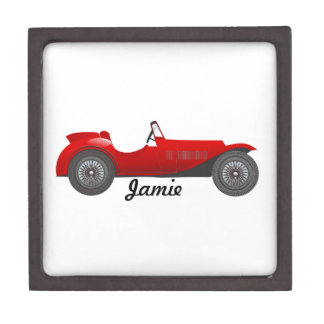 Boys Room Classic Car Gifts Sweet red Retro Car Gift Box